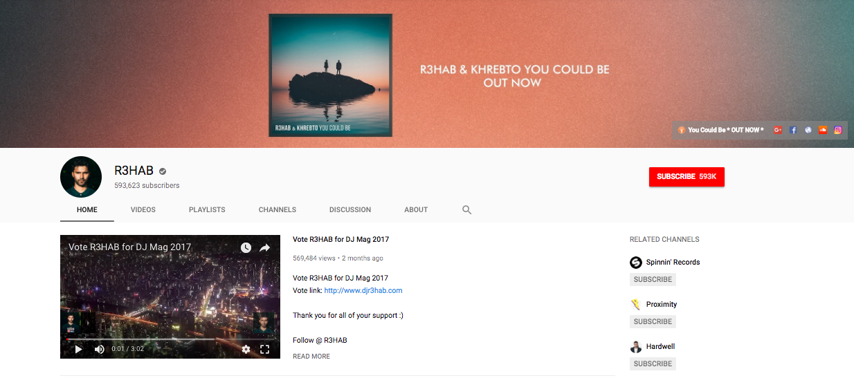 How Artists Make the Most of Their YouTube Channel (Part 1)